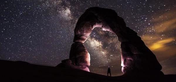 A Constelação Familiar Xamânica e a Física Quântica - Homem frente ao universo