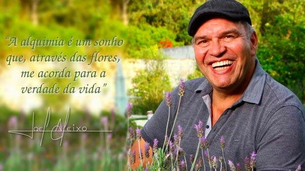 frase de joel aleixo - criador do floral alquímico
