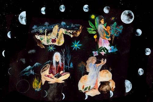 as 4 fases da lua e seus arquétipos - Pinterest Arquétipos do Ciclo Menstrual – Mandala Lunar 2019