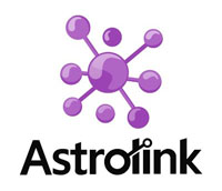 logo do astrolink - parceiro do Guia da Alma