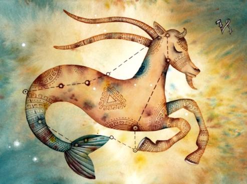 sol em capricórnio - simbolismo cabra com rabo de peixe