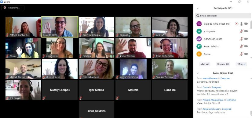sessão de Mindfulness online - Guia da Alma