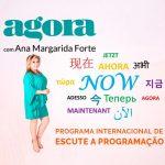 Terapeuta Ana Margarida Forte Agora programa internacional de rádio