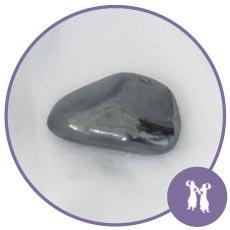 Pedra dos signos: Gêmeos Hematita