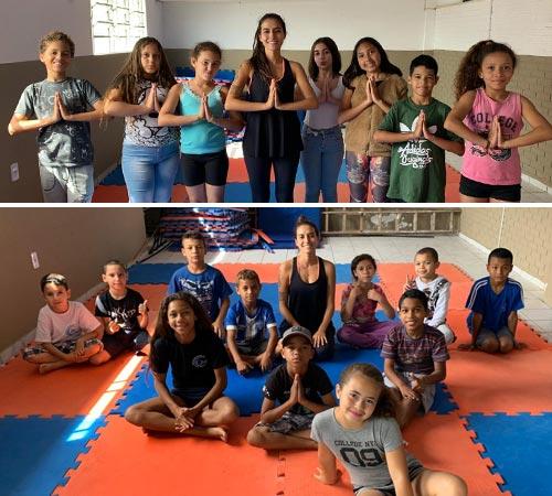 yoga e meditação na cura solidária 2019