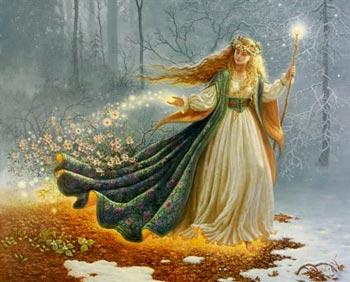 Sol em Virgem - Deusa Perséfone