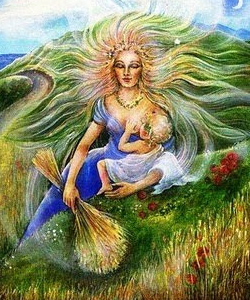 Sol em Virgem - Mito de Deméter