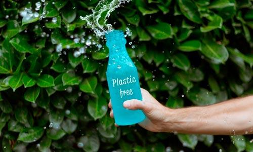 garrafa de vidro - free plastic