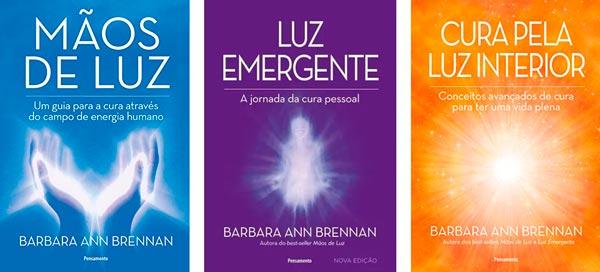 livros sobre espiritualidade de barbara ann brennan