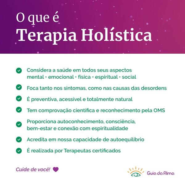 O que é Terapia Holística?