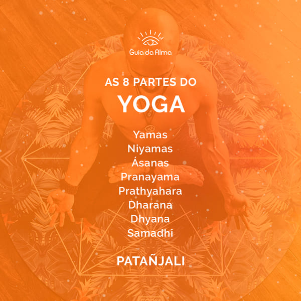 as 8 partes do yoga de Patanjali