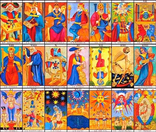 Cartas do tarot de jung - arcanos maiores