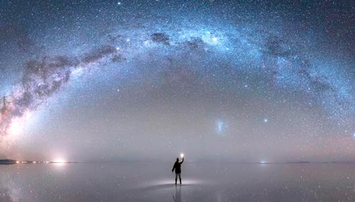 despertar da consciência - universo