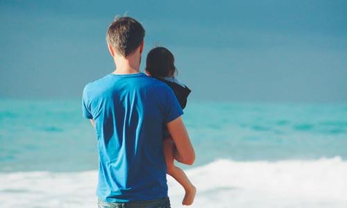 pai e filha índigo