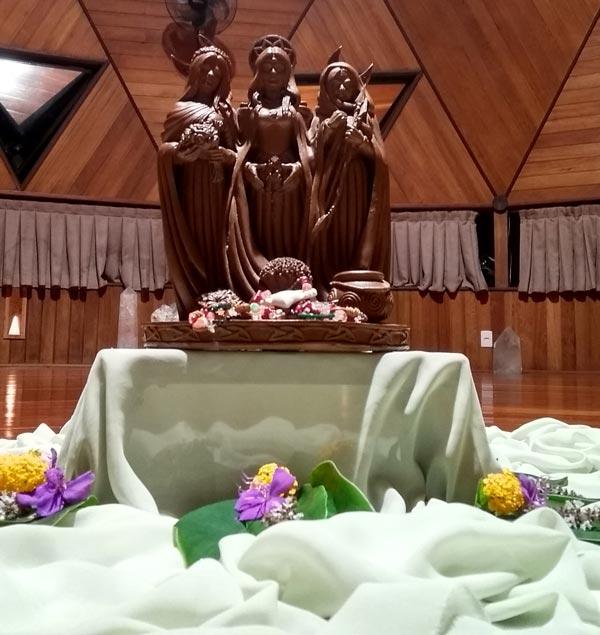 festival da deusa tríplice