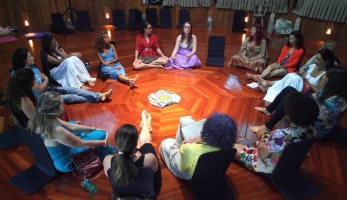 propósito terapeuta no festival da deusa