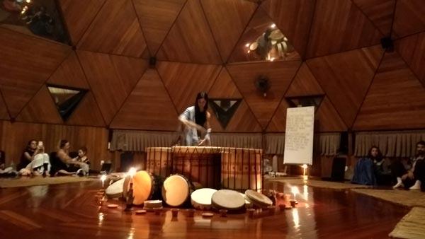 festival da deusa - roda de tambores Roxana