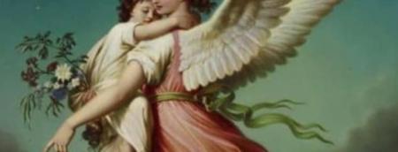 Floral para o anjo da guarda