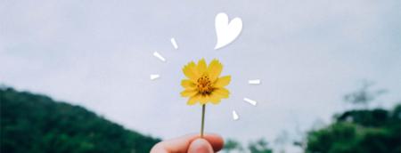 Floral para a gratidão