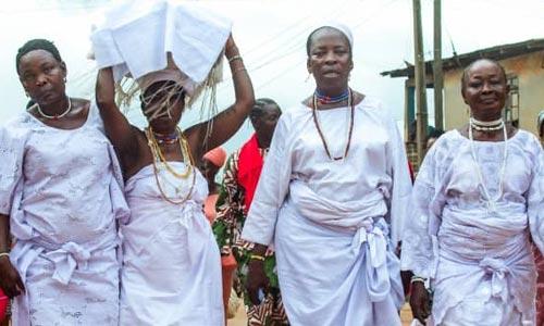 festa de iemanjá na Nigéria