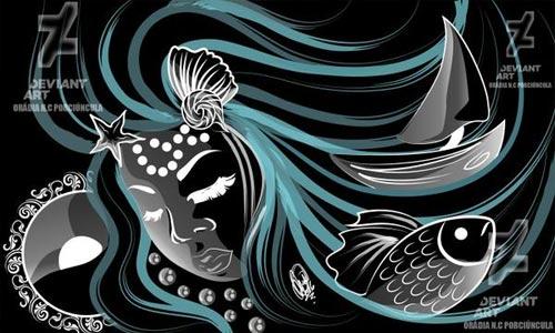iemanjá - sereia das águas, mares e rios