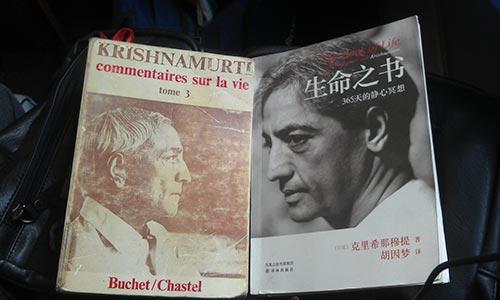 livros de Krishnamurti - Wiliam Farnesi