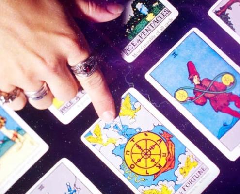 livros de tarot: cartas
