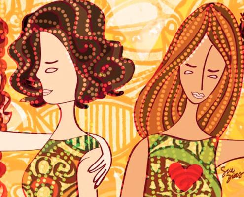 mulheres em sagrado feminino - frases