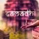 capa conceitual sobre samadhi: iluminação espiritual no yoga