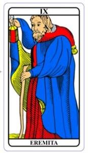 tarot hoje - carta do dia: eremita