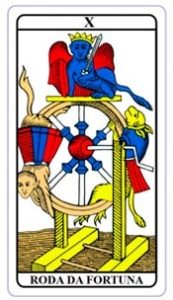 tarot hoje - carta do dia: roda da fortuna