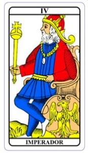 tarot hoje - carta do dia: imperador