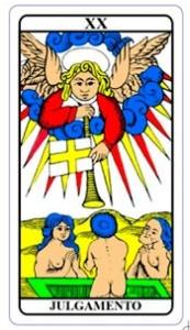 tarot hoje - carta do dia: julgamento