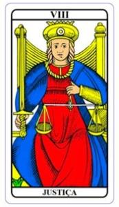 tarot hoje - carta do dia: justiça