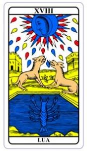 tarot hoje - carta do dia: lua