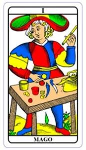 tarot hoje - carta do dia: mago