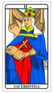 tarot hoje - carta do dia: sacerdotisa