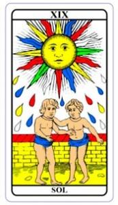 tarot hoje - carta do dia: sol
