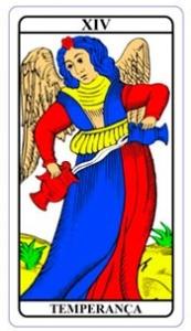 tarot hoje - carta do dia: temperança