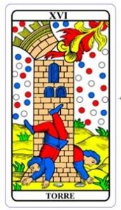tarot hoje - carta do dia: torre