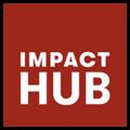 logo impact hub - parceiro do Guia da Alma