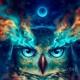 coruja xamanismo: os olhos da alma
