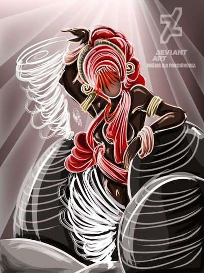 orixá Obá: a deusa guerreira dos ventos e redemoinhos