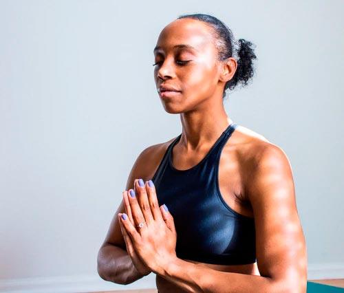 pratica de yoga mudras - namaste