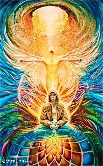 Homem em conexão com o eu divino na Terra