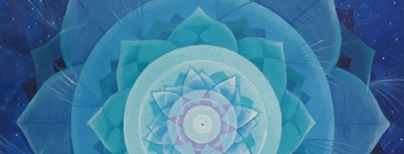 mandala azul - umbihealing