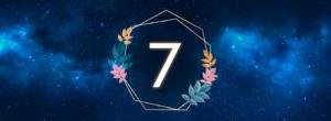 numerologia de julho: número 7