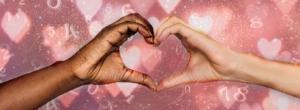 numerologia do amor - mãos formando coração