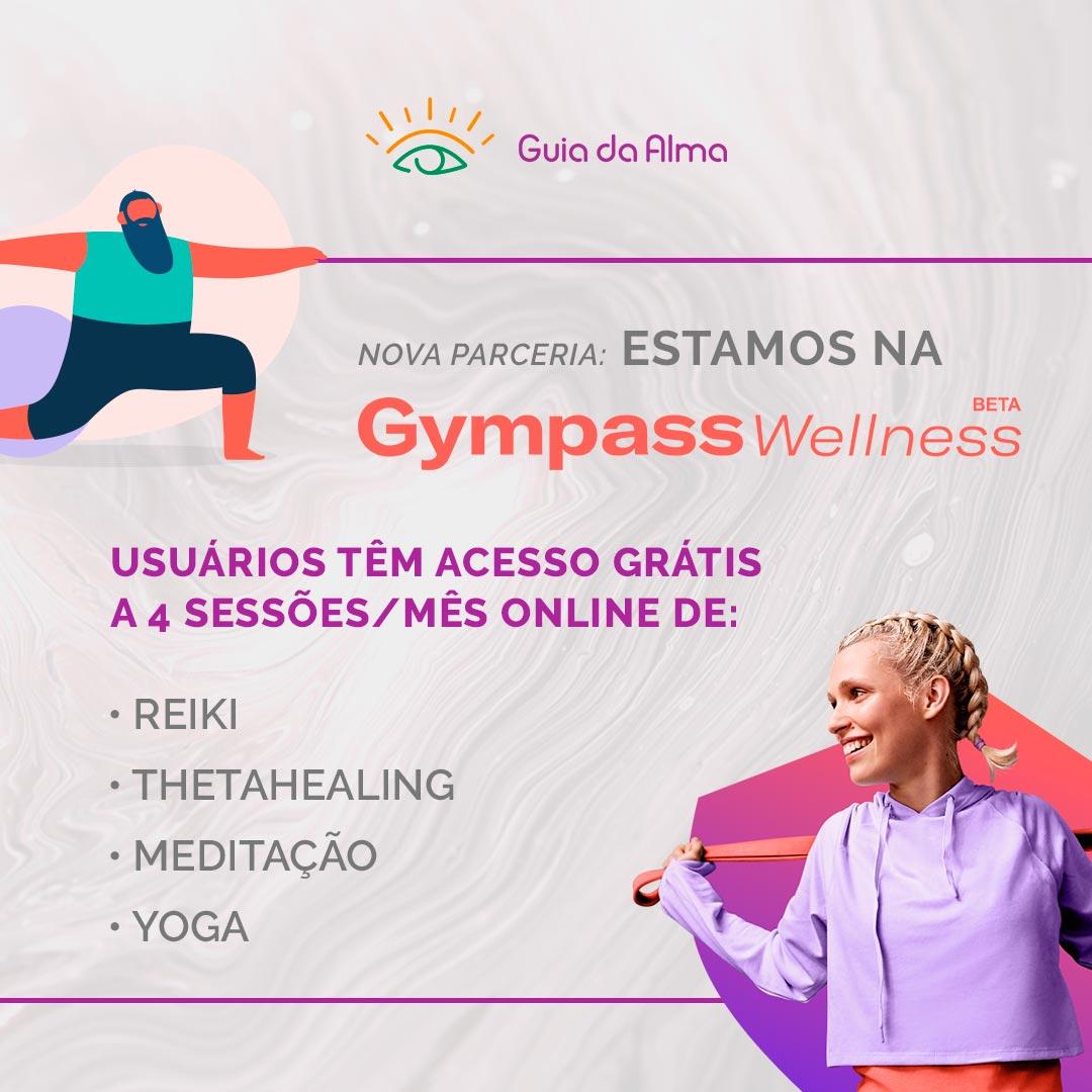 Guia da Alma no Gympass Wellness