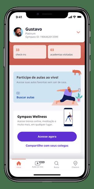 gympass wellness app